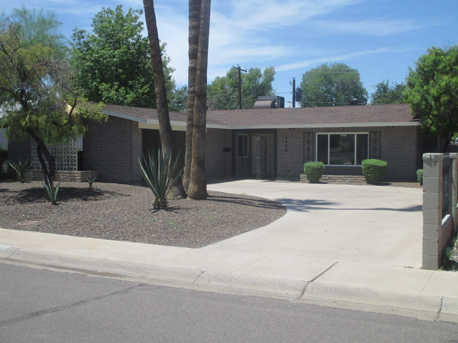 bedrm house for rent tempe az krk realty and management